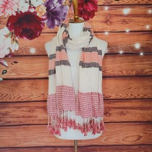 Vince Camuto Striped Scarf